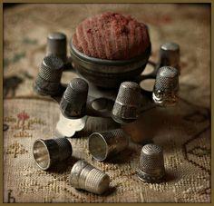 vintage thimballs...