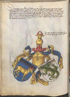 Grünenberg, Konrad: Das Wappenbuch Conrads von Grünenberg, Ritters und Bürgers zu Constanz um 1480 Cgm 145 Folio 85