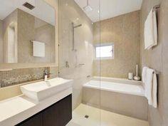 Simple Modern Bathroom contemporary ensuite bathroom with cutting-edge design in sydney