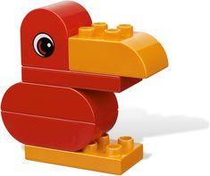 LEGO Duplo 6784 Kreatywne Pudełko- worldtoys.pl Lego Duplo, Lego Builder, Lego Worlds, Bird Crafts, Crafts For Kids, Lego Ideas, Toys, Birds, Education