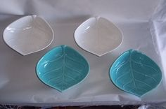 California Pottery Leaf Bowls L73