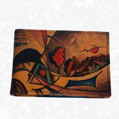 Vizitkáre Kožené výrobky - Kožená galantéria a originálne ručne maľované kožené výrobky Wallet, Purses, Diy Wallet, Purse