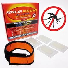 Newly released DEET FREE Repeller Bug Band is here! NO OTHER FORMULA LIKE IT! New Oil-Infused refills with time release technology of 11 natural essential oils! 60 Days of Protection anywhere you go!  Wear it on your wrist, ankle, belt, backpack or place on a baby stroller! On sale for a limited time. Only available on Amazon.com (USA)