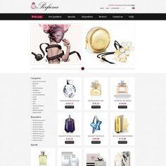 Perfumes Store  ZenCart Template
