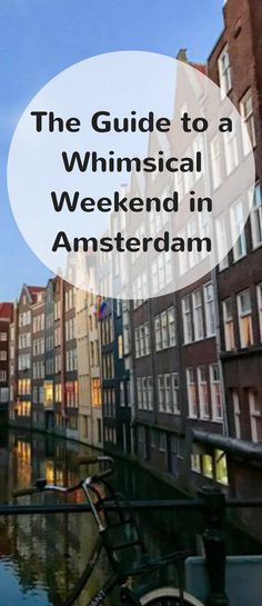 Guide to Amsterdam. Amsterdam is an exciting and lively city divided by beautiful canals and historical town houses. This guide includes everything you need to know to make the most out of your weekend in Amsterdam. Including where to eat, where to stay, and what to do. Happy Travels!