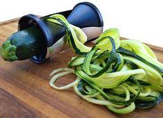 Here's a gadget that you need in your kitchen! Dazzle your guests with this Best Selling Vegetable Spiral Maker. It's perfect for creating Zucchini Noodles too!