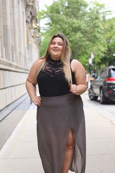 wrap maxi skirt, plus size fashion, affordable plus size clothes, Natalie in the city, Natalie Craig, plus size fashion blogger, scorch magazine, fabulous, plus model magazine, plus size model, crochet, forever 21 plus, Chicago fashion, summer style, Chicago style, curves and confidence, TJ maxx