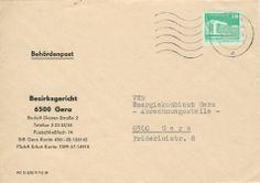 Gera Bezirksgericht nach Gera VEB Energiekombinat