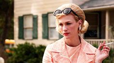 Betty Draper GIF #MADMEN I don't have time for this.