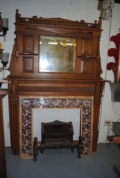 US $2,150.00 in Antiques, Architectural & Garden, Fireplaces & Mantels