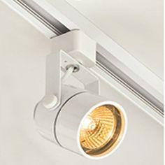 KIT Trilho 2 Metros + 4 Spots Dicróica + 4 Lâmpadas LED Dicróica 4W 3000K ou 5000K bivolt - Kian