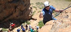 This looks like it would be so much fun. I haven't been rappelling since I was in College, and I don't even want to say how long ago that was. I would love it if my company did this for a team building activity for our party.