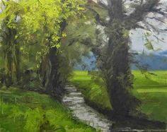 "Daily Paintworks - ""Beneden Slinge Doetinchem, The Netherlands"" - Original Fine Art for Sale - © René PleinAir"