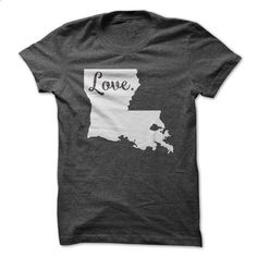 Love Louisiana - shirt design #unique hoodie #sweatshirt chic