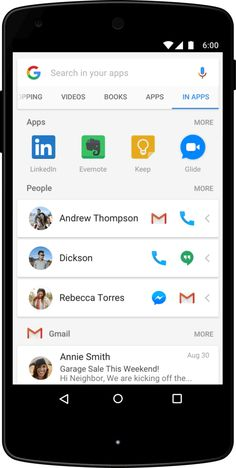 """Google is introducing a new search mode in its Google app called """"In Apps,""""…"""