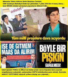 HIRSIZ VARRRR!!! GERÇEK HIRSIZLARI İYİ TANIYIN! Adalet istiyoruz diye yollara düşüp, Kılıçdaroğlu'yla beraber yürüyen Mimarlar odası Ankara şube Başkanı CHP'Lİ CANDAN KARAKUŞ'un, CHP'li ÇANKAYA BELEDİYESİ'nden çalışmadan 7 yılda 350 BİN TL para aldığı ortaya çıktı... ŞAKA GİBİ...