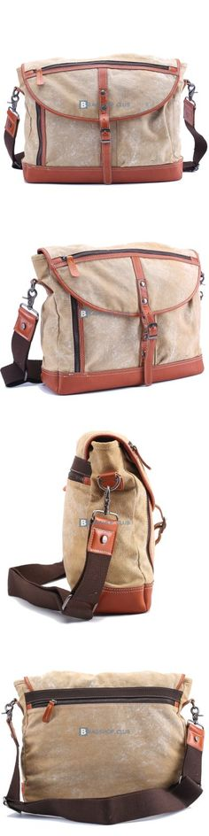 Messenger Bags For School Canvas Shoulder Bag Men (3)