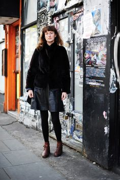Miista Street Style, to see more >> https://miista.com/blogs/miista/streetstyle-london-25th-february
