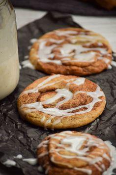 Swirly Brown Sugar Cinnamon Roll Cookies
