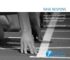 Brosjyre om Rask respons for Fokus På DIn Helse