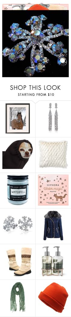 """Winter fashion"" by knmaem on Polyvore featuring NIKE, Fallon, PBteen, Sephora Collection, Bling Jewelry and Williams-Sonoma"