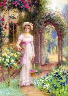 William Affleck - Her Garden.
