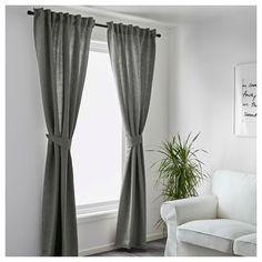 BLEKVIVA Κουρτίνες με αμπράς,1 ζευγάρι   IKEA · Beautiful CurtainsBedroom  ...