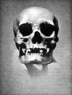 William Mortensen, Skull