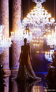 The Millionairess of Pennsylvania / karen cox:  Holiday celebration! Grand party.Elie Saab Couture 2014-15