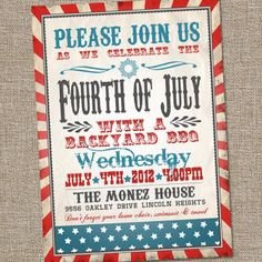 Fourth of July party printables and decor to make your cookout a standout!!!
