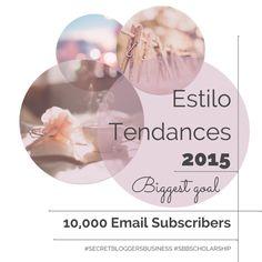Estilo Tendances' 2015 Goals - Together We Can Make It Happen