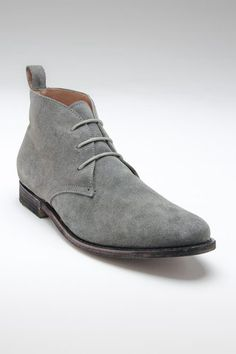 Franklin Chukka Boot Grey Suede by JD Fisk