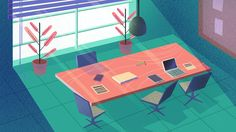 Illustrations for 2D Projects on Behance