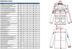Create your technical files of ready-to-wear | C-DESIGN Fashion