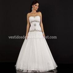 Vestido de Noiva Luxuoso