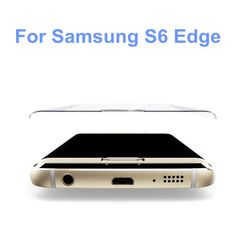 Find More Phone Bags & Cases Information about Free Shipping 9H Tempered Glass Front Full Cover On Screen Protector Case Coque For Samsung Galaxy S6 edge curved tempered glass,High Quality case easy,China case for lg l7 Suppliers, Cheap s6 battery from beautiful daybreak on Aliexpress.com