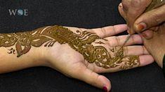 Mehndi Designs   Arabic (Broad)   front hand
