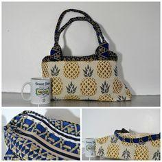 Sac City Zip-Zip Ananas cousu par Créabull' - Patron de couture Sacôtin