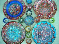 Turkish plates for wall in kitchen/dining area. & Iznik Turkish Bowl | TURKEY | Pinterest | Bowls