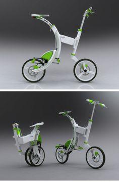 Grasshopper - Electric & folding bicycle