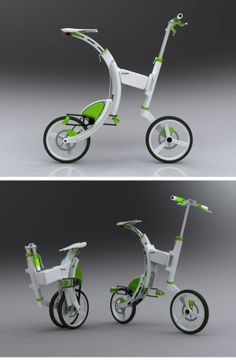 Grasshopper - Electric & folding bicycle