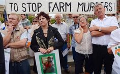 South African farmers fearing for their lives