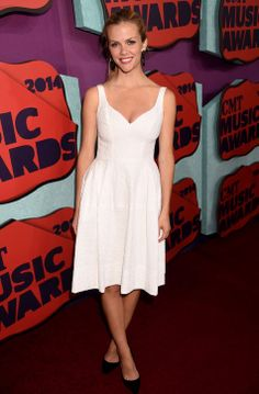 Brooklyn Decker in a Jill Stuart LWD at the CMT Awards