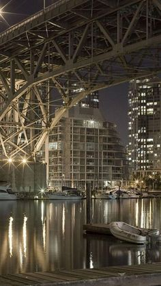 Granville Street Bridge, Vancouver, British Columbia, Canada...we sat many times here watching the fireworks during expo 86