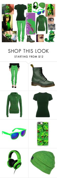 """""""Pascal~Rapunzel"""" by shadow-948 ❤ liked on Polyvore featuring Disney, Plein Sud Jeanius, Dr. Martens, TIBI, SWG, Casetify, Razer and Norrøna"""