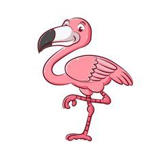 The illustration of the enamor flamingo ...   Premium Vector #Freepik #vector #character #cartoon #bird #animal How To Draw Flamingo, Flamingo Art, Flamingo Pattern, Unicorn Pattern, Ballerina Illustration, Crown Illustration, Flamingo Illustration, Color Rosa, Pink Color