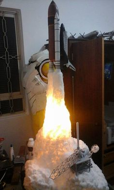 1-72nd Scale - NASA -Space Shuttle Launch  (2)