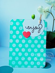 So easy, so cute. Enjoy! | AWW by Cathy Caines  @Coral Hinz' Up!
