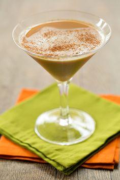 Pumpkin Spice Latte Martini - The Drink Kings