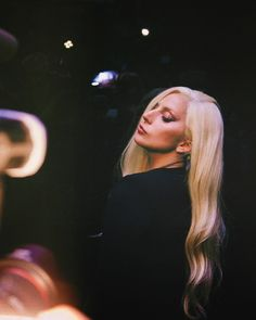 Lady Gaga at Brandon Maxwell Fashion Show in NYFW 2015